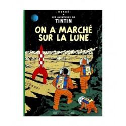 Tintin On A Marché Sur La Lune. En Francés.
