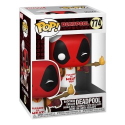 Figura Marvel Deadpool 30 Aniversario Barbacoa Funko Pop