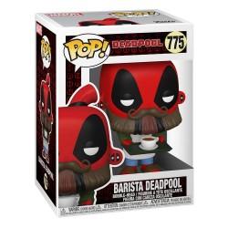 Figura Marvel Deadpool 30 Aniversario Barista Funko Pop