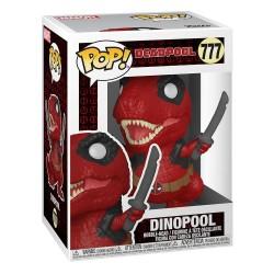 Figura Marvel Deadpool 30 Aniversario Dinopool Funko Pop