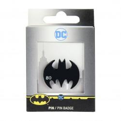 Pin Metálico Batman Logo 80 Años