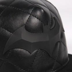Gorra Visera Plana Batman Logo Polipiel