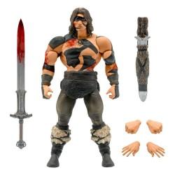 Figura Conan El Bárbaro War Paint Ultimates Super7