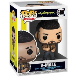 Figura V-Male Cyberpunk 2077 Funko Pop Games 588