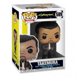 Figura Takemura Cyberpunk 2077 Funko Pop Games 589