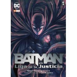 Batman y La Liga De La Justicia (Manga. Colección Completa)