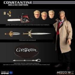 Figura Constantine Hellblazer Deluxe Mezco The One 12 DC Comics