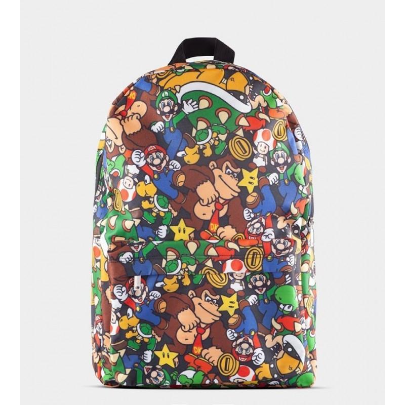 Mochila Super Mario Personajes Nintendo