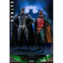 Set 2 Figuras Batman y Robin Batman Forever Hot Toys Escala 1/6