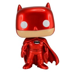 Figura Batman Red Metallic Exclusive Funko Pop DC Comics
