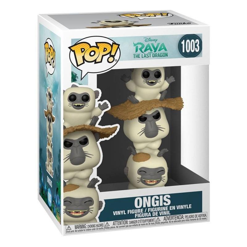 Figura Bajon Raya Y El Último Dragón POP Funko 1003