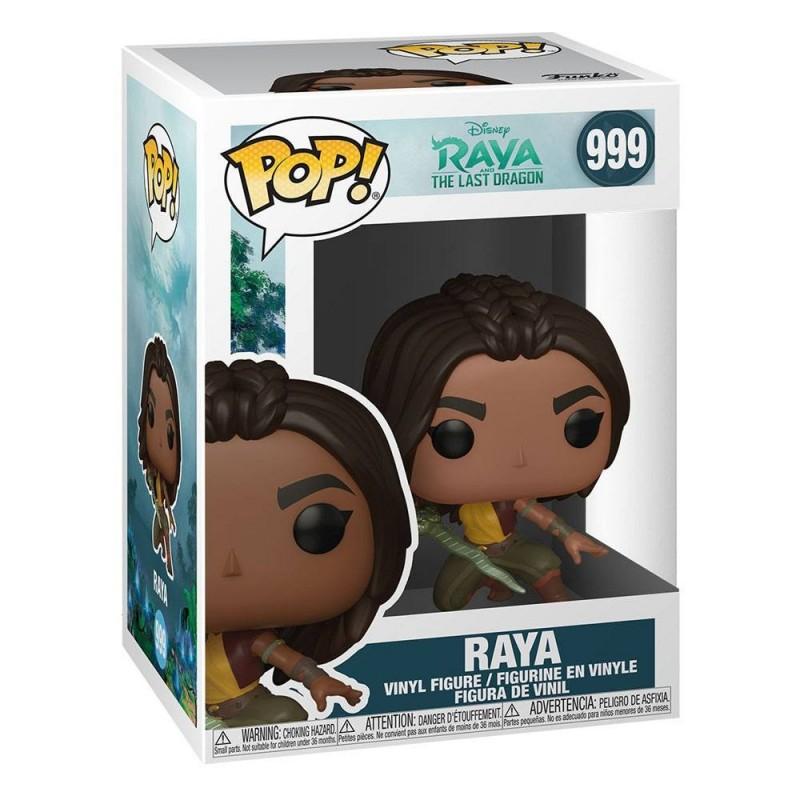 Figura Raya Luchando Raya Y El Último Dragón Disney Funko Pop Vinyl