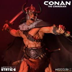 Estatua Conan The Cimmerian Static Six Mezco