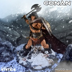 Estatua Conan The Cimmerian Static Six Mezco