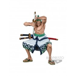 Figura Roronoa Zoro One Piece Super Master Stars Piece World Figure Colosseum 3 Banpresto