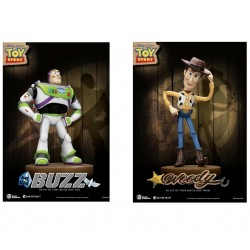 Set 2 Estatuas Woody y Buzz Lightyear Toy Story Disney Pixar Master Craft Beast Kingdom