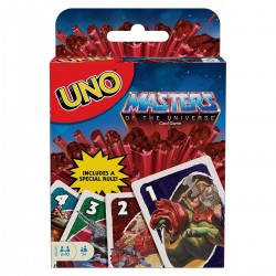 Juego Uno Masters del Universo