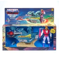 Set Príncipe Adam y Sled Origins Masters del Universo Mattel