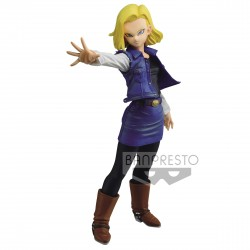 Figura Android 18 Dragon Ball Z Match Makers Banpresto