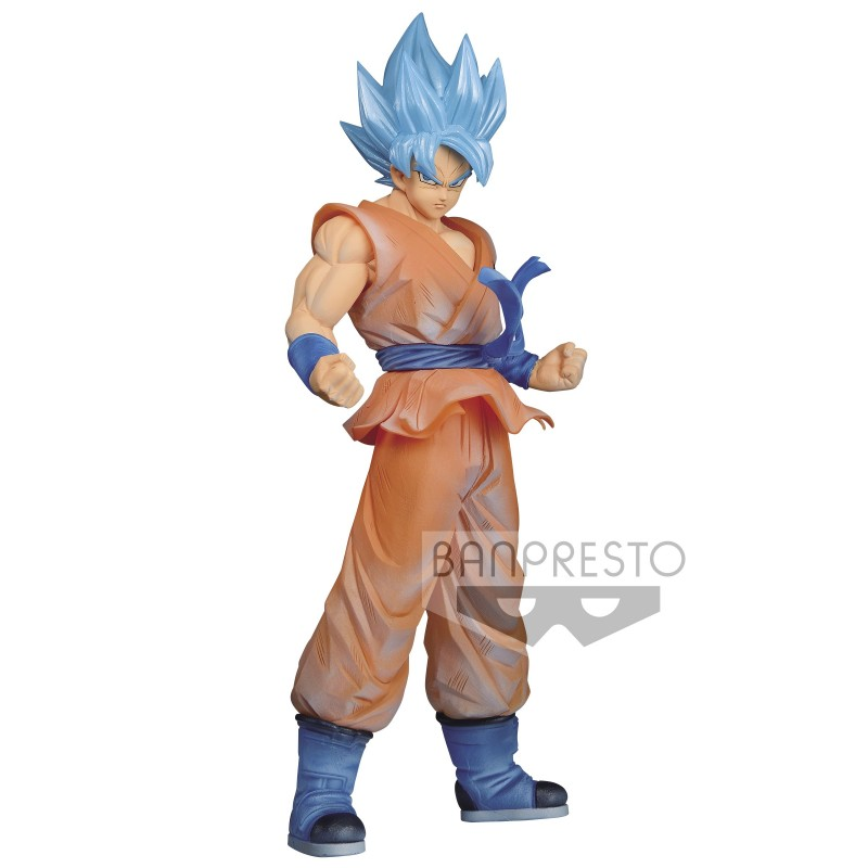Figura Son Goku Super Saiyan God Clearise Version Dragon Ball Super Banpresto