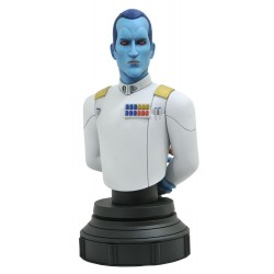 Busto Grand Admiral Thrawn Star Wars Animated Rebels Escala 1:7