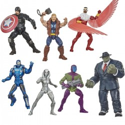 Set Completo Avengers Videogame Marvel Legends Wave 2 Hasbro