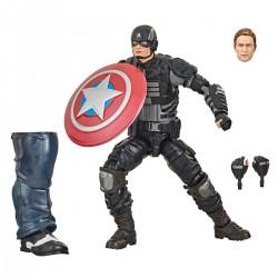 Figura Capitán América Avengers Videogame Marvel Legends Wave 2 Hasbro