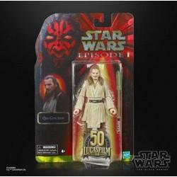 Figura Qui-Gon Jinn Episodio I Star Wars Black Series Lucasfilm 50 Aniversario