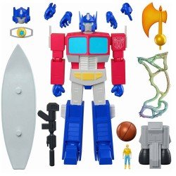 Figura Optimus Prime Ultimates Transformers Wave 1 Super7