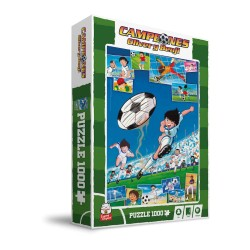 Puzzle Campeones Oliver Y Benji Captain Tsubasa Oliver Chutando 1000 Piezas