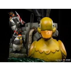 The Penguin Deluxe Pingüino Batman Returns Escala 1/10 Iron Studios