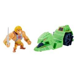 He-Man y Ground Ripper Figuras Masters del Universo Eternia Minis Mattel