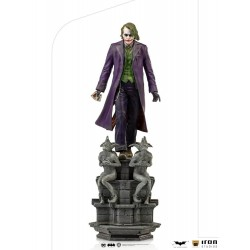 Figura Joker El Caballero Oscuro The Dark Knigh Deluxe Art Scale 1/10 Iron Studios