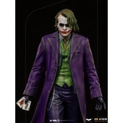 Figura Joker El Caballero Oscuro The Dark Knigh Deluxe Art Scale 1/10 Iron Studios