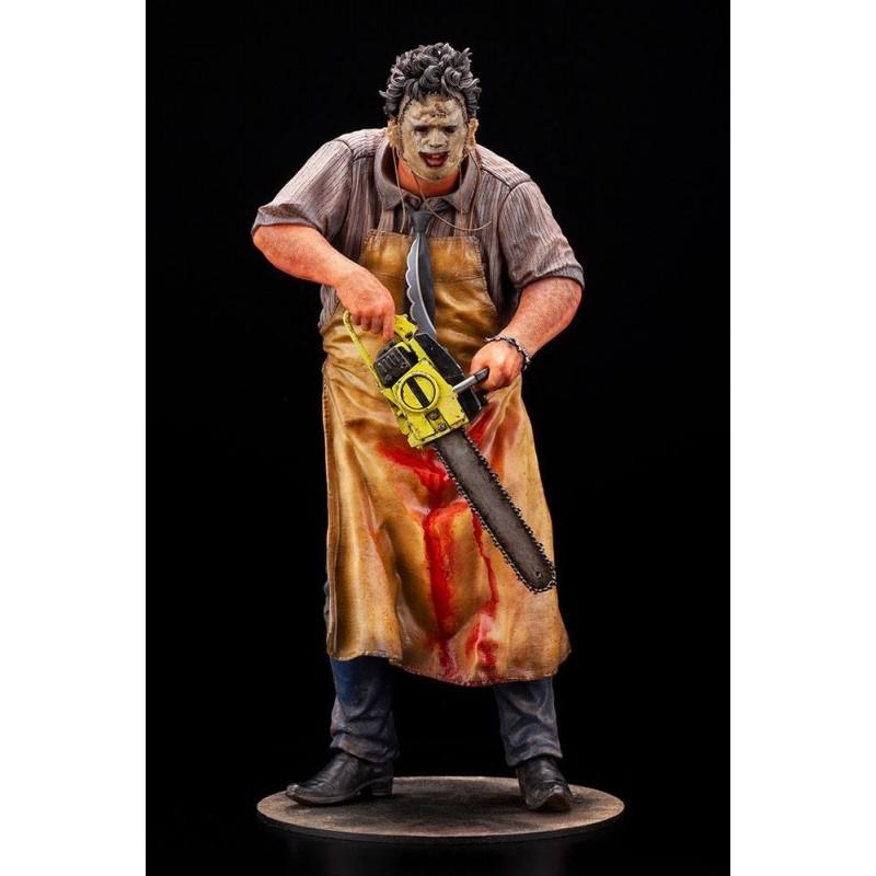 Estatua Leatherface La Matanza De Texas 1/6 Artfx Kotobukiya