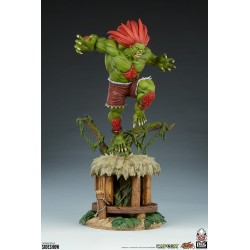 Estatua Street Fighter: Blanka Ultra Escala 1:4