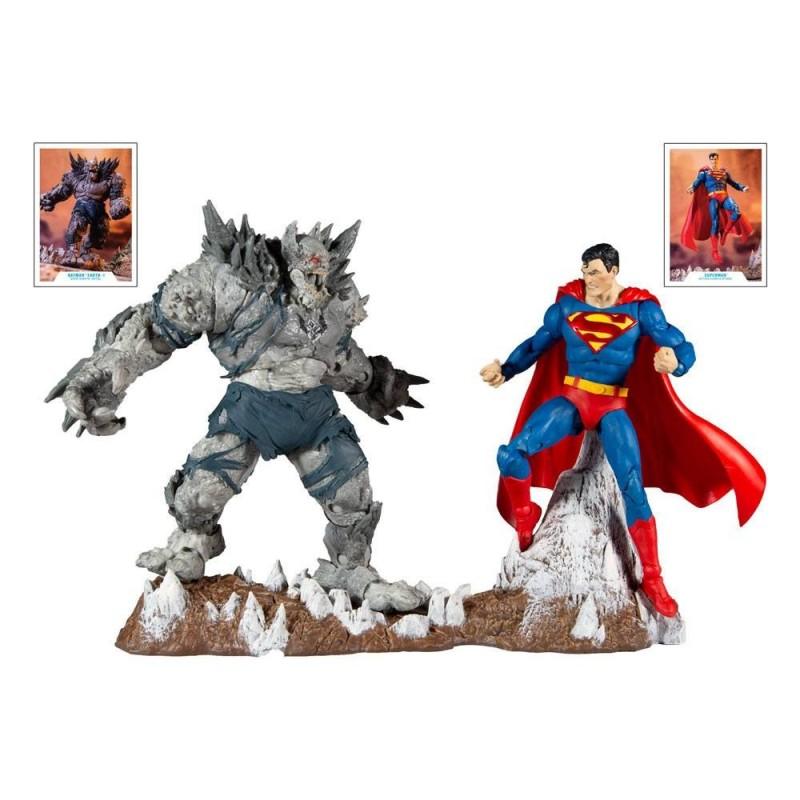 Pack 2 Figuras Superman Devastator Collector Multipack  DC Multiverse McFarlane Toys
