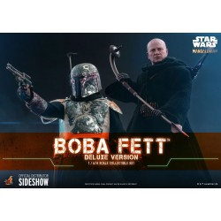 Figura Boba Fett Deluxe The Mandalorian Star Wars Hot Toys