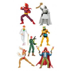 Set Completo Super Villains 2021 Marvel Legends Wave 1 Hasbro