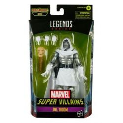 Imagén: Figura Doctor Doom Doctor Muerte Marvel Legends Build A Figure Xemnu Hasbro