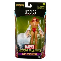 Figura Lady Deathstrike Marvel Legends Build A Figure Xemnu Hasbro