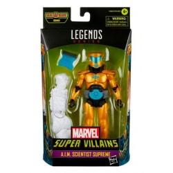 Figura A.I.M. Scientist Supreme Marvel Legends Build A Figure Xemnu Hasbro