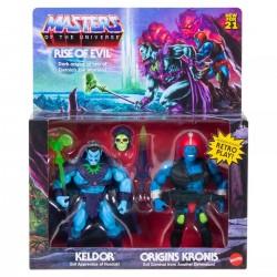 Pack 2 Figuras Keldor y Kronis Masters del Universo Origins Collector's Edition Exclusive Mattel