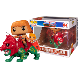 He-Man y Battle Cat Masters del Universo Funko POP Rides 84