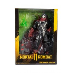 Figura Commando Spawn - Dark Ages Skin Mortal Kombat