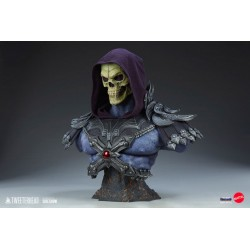 Busto Skeletor Legends Escala 1/1 Masters del Universo Tweeterhead