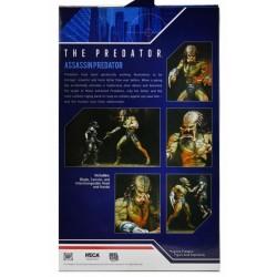 Figura Predator Deluxe Armored Assassin Unarmored Neca Depredador