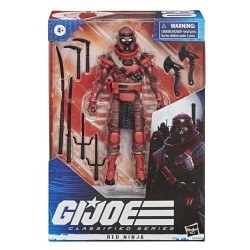Figura Red Ninja G.I. Joe Classified Hasbro