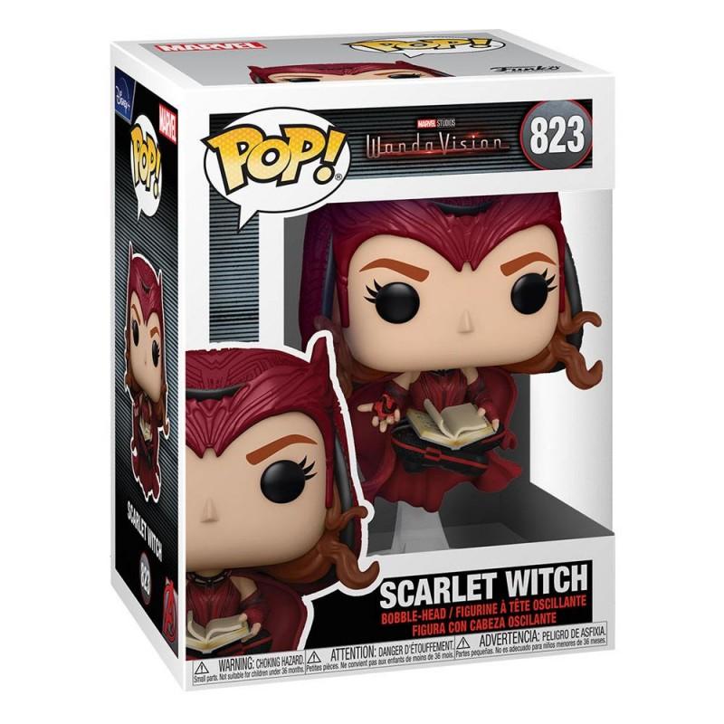 Figura Scarlet Witch Wandavision Bruja Escarlata Marvel POP Funko 823