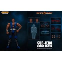 Figura Sub-Zero Unmasked Mortal Kombat Storm Collectibles